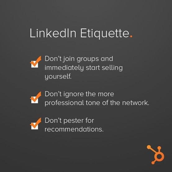 LinkedIn etiquette - Coen Koppen Communicatie