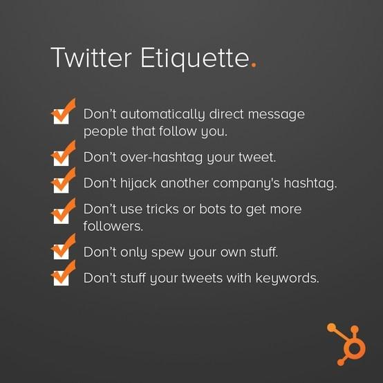 Twitter etiquette - Coen Koppen Communicatie